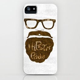 Hipster Pride iPhone Case