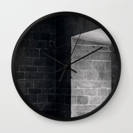 Scary view of hollow Wall Clock
