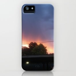 fire skies iPhone Case
