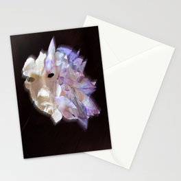 Purple Flame Stationery Cards