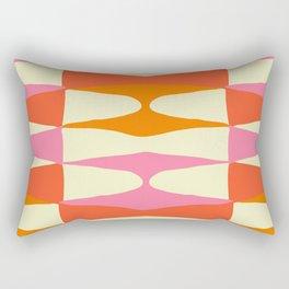 Zaha Sixties Rectangular Pillow