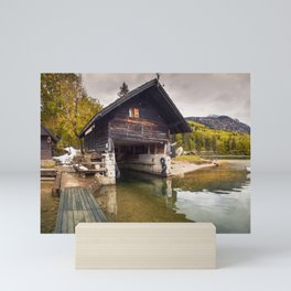 Lake Bohinj Mini Art Print