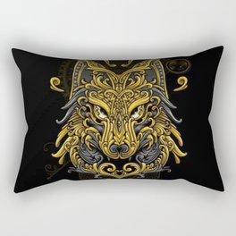 Wolf - Rectangular Pillow