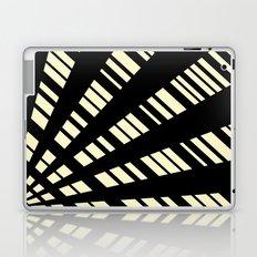 Fancy     Cream & Black Laptop & iPad Skin