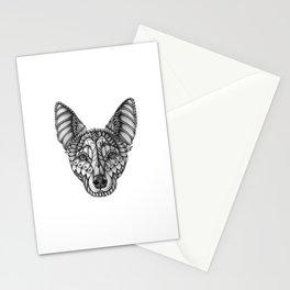 Ornate Australian Kelpie Stationery Cards