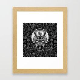 GRIMOIRE II Framed Art Print
