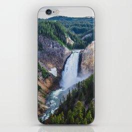 Waterfall, Grand Canyon of the Yellowstone iPhone Skin
