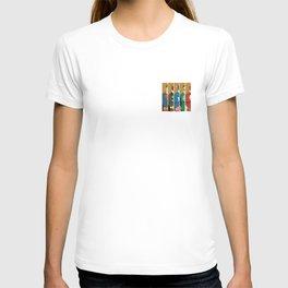 Comic Superheros No. 1-5 T-shirt