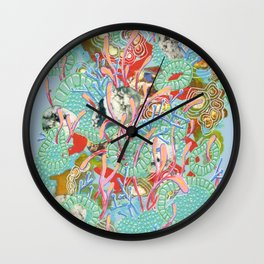 Alien Organism 9 Wall Clock