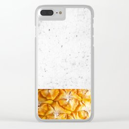 Urban pinapple Clear iPhone Case