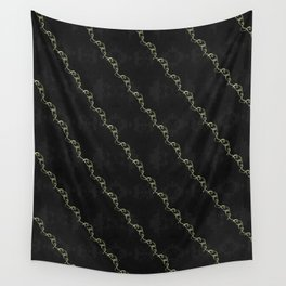 Gold Ribbon Wall Tapestry