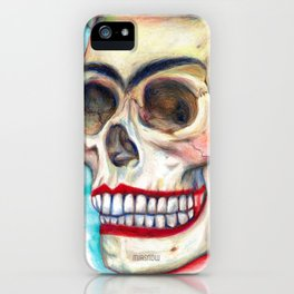 Frida's Skull iPhone Case