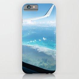 Ocean Airplane Views iPhone Case