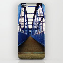 Purple People Bridge iPhone Skin