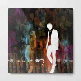 The invisible man... Metal Print