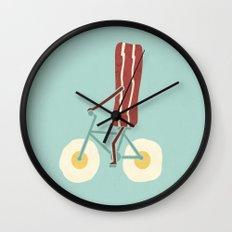 Sunny Ride Wall Clock