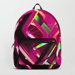 Pink Neon Abstract - 2020 - Lasers  Backpack