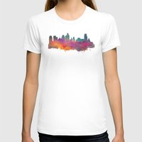 minneapolis T-shirts featuring Minneapolis Skyline  by jbjart
