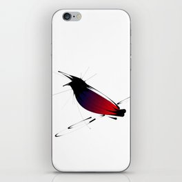 Crow on Branch iPhone Skin