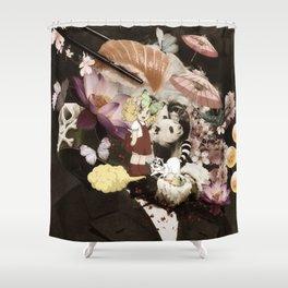 japan memories Shower Curtain