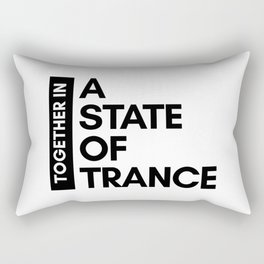 TOGETHER IN - A STATE OF TRANCE Rectangular Pillow
