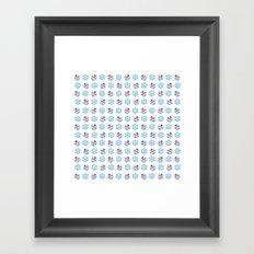 C1.3D Snowmoji Framed Art Print