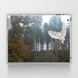 Owl in the Forest Laptop & iPad Skin