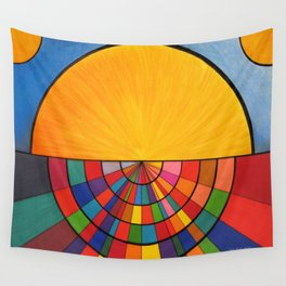 Dawn In a Digital Age Wall Tapestry