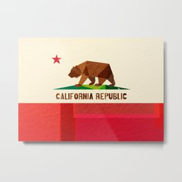 California 2 (rectangular version) Metal Print