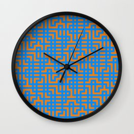 One Continuous Line Wall Clock