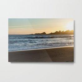 Chetco Cove Sunset Metal Print