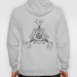 ACCEPTING - FREEDOM - IMPACTFUL Hoody