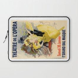 Belle Epoque vintage poster, French Theater, Theatre de L'Opera Laptop Sleeve
