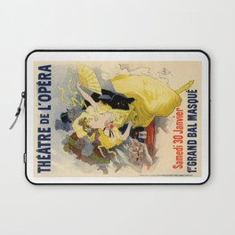 Belle Epoque vintage poster, French Theater, Theatre de L'Opera Laptop Sleeve