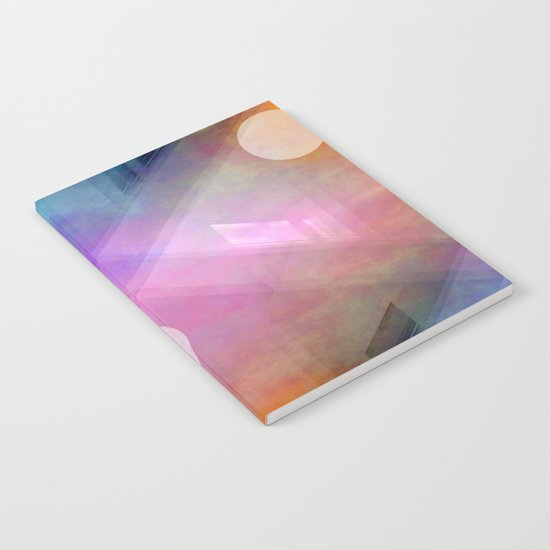 Multicolored abstract no. 44 Notebook