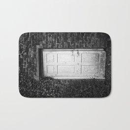 One-Door-Closes Bath Mat