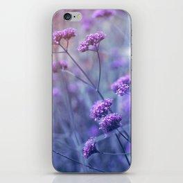 in purple mood iPhone Skin