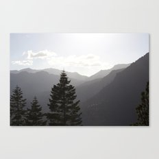 Hills of Tahoe Canvas Print