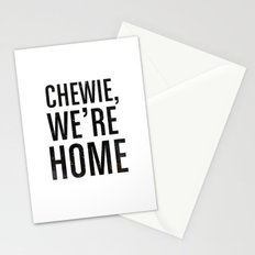 Chewie,We're Home - Galactic Stationery Cards