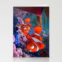 nemo Stationery Cards featuring Nemo by Max Jones