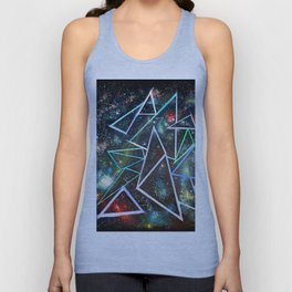 My Father's Star Charts Unisex Tank Top