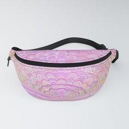 Pink Sunrise Mandala Fanny Pack