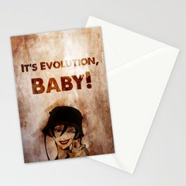 Do the Evolution, Baby! Stationery Cards