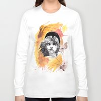 les miserables Long Sleeve T-shirts featuring Les Miserables by Taylor Starnes