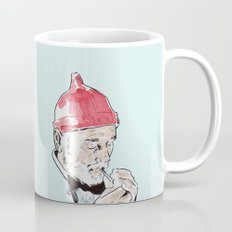 Bill Murray featured as Steve Zissou from The Life Aquatic with Steve Zissou by Wes Anderson Mug