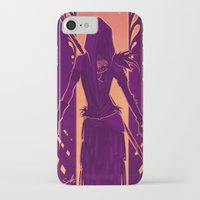 dragon age iPhone & iPod Cases featuring Dragon Age: Morrigan by Sara Cuervo