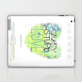 Crazy Stupid Love Laptop & iPad Skin
