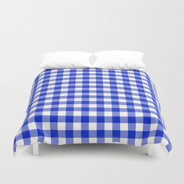 Plaid (blue/white) Duvet Cover