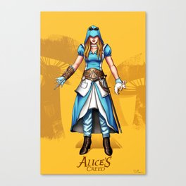 Alice's Creed Canvas Print