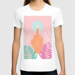 Grl Pwr #girlpower #feminist #society6 T-shirt